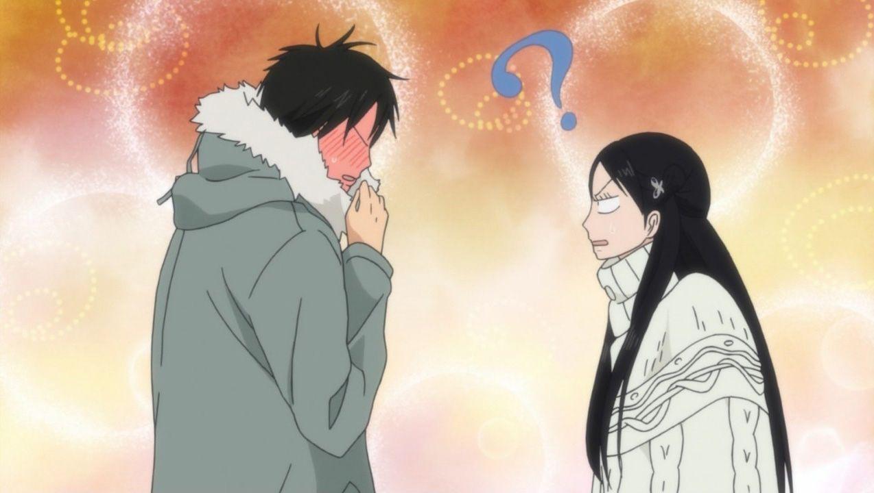 quotkimi ni todokequot kazehaya amp sawako �� anime