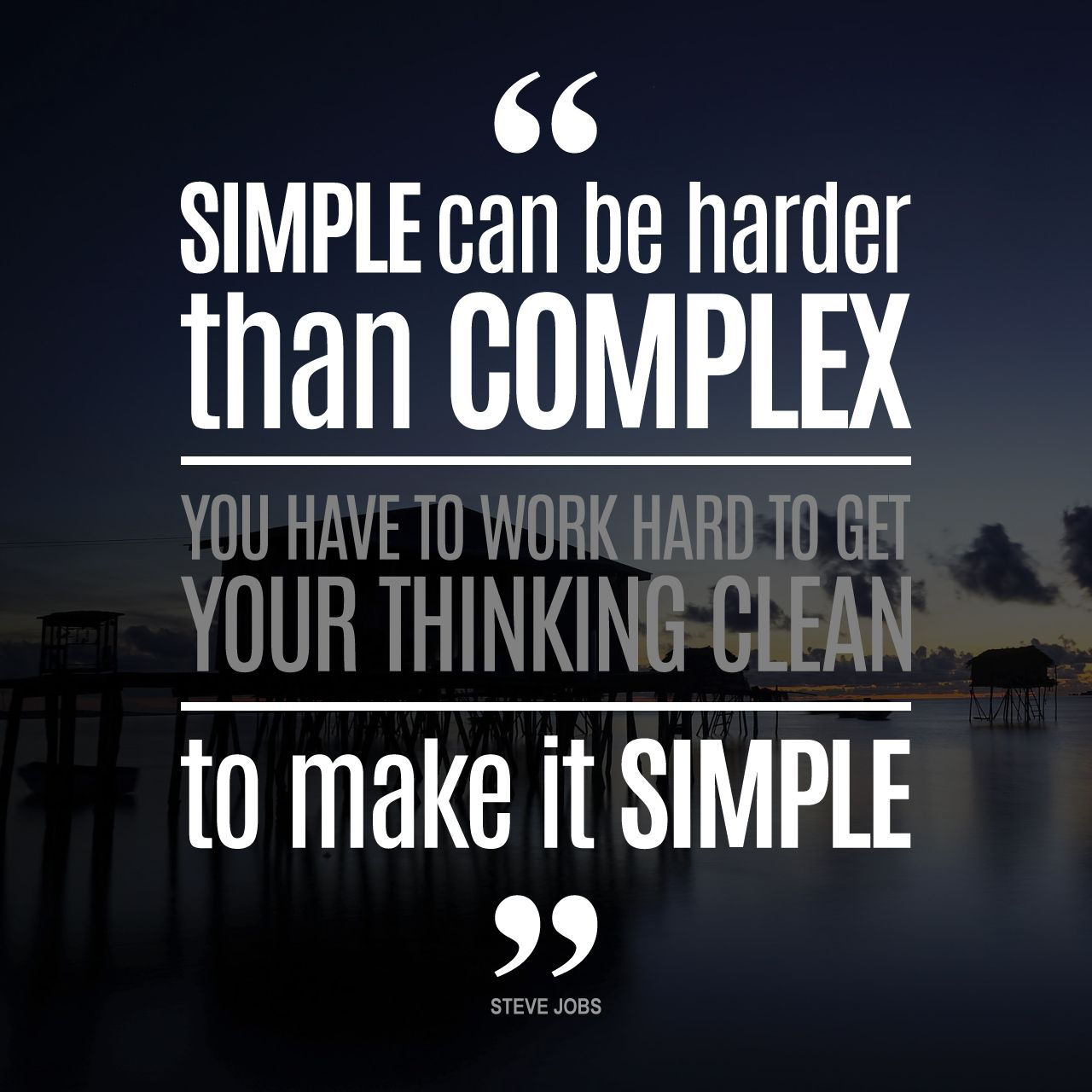 "Steve Jobs Quotes On Hard Work: Good Morning UAE! Inspirational Quote For Today. ""Simple"