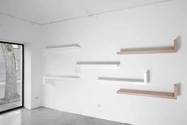 Zwevende Wandplanken Op Maat.Zwevende Plank Wandplank Op Maat Design Henk Vos