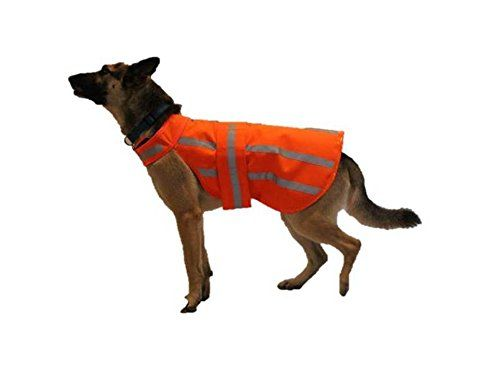 Dog Hunting Jacket High Visibility Waterproof Xlarge This Is An Amazon Affiliate Link Want Additional Info Clic Hunting Dogs Cat Clothes Hunting Jackets