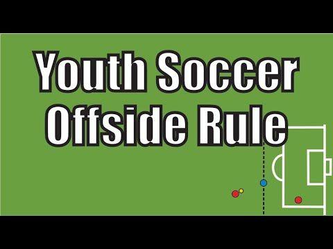 Youth Soccer Offside Rule 7v7 Youtube Offside Rule Youth Soccer Soccer