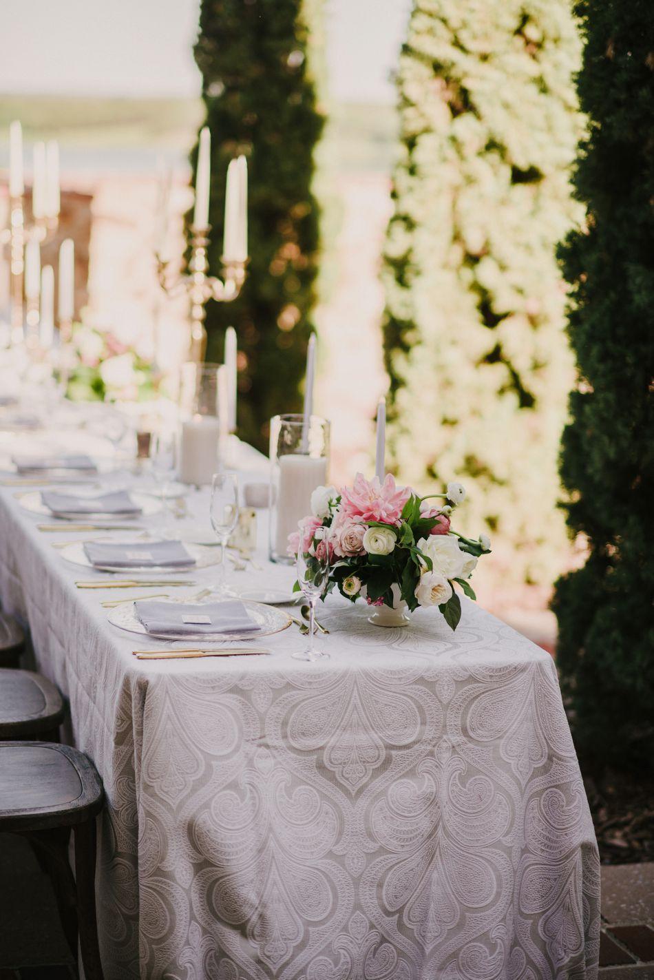 Bella Collina Wedding | Orlando, FL | Grey and Blush Wedding | Elleson Events | Intimate Wedding