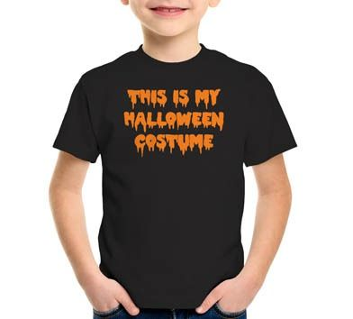 This Is My Halloween Costume T-Shirt, Hoodie, or Tote Bag