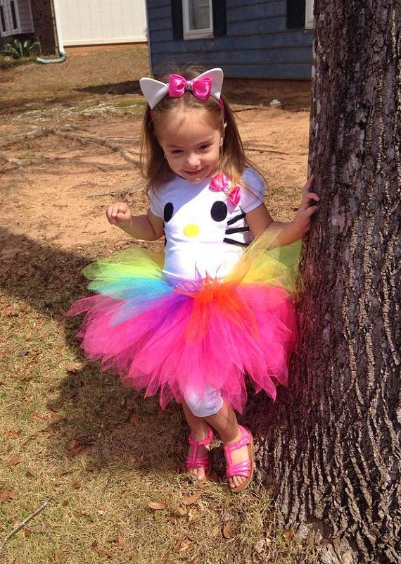 08bead659 Deluxe Hello Kitty Tutu Dress with Ears / by AngelinaRoseInspired ...