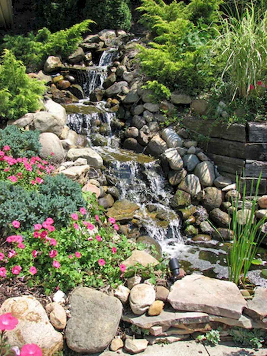 Fresh water feature for front yard and backyard ... on Front Yard Waterfall Ideas id=35338