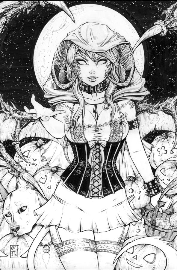 Grimm Fairy Tales : Halloween Demon by ColletteTurner on DeviantArt ...