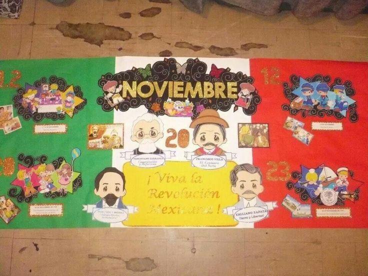 Peri dico mural noviembre peri dico mural noviembre la for Estructura de un periodico mural escolar