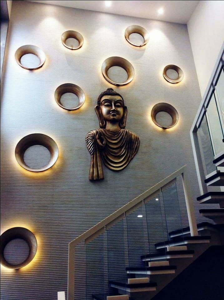 Pin By Gagan On Decor3 Staircase Wall Decor Stairs Design Staircase Design