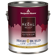 Regal Select Exterior High Build is a premium waterborne