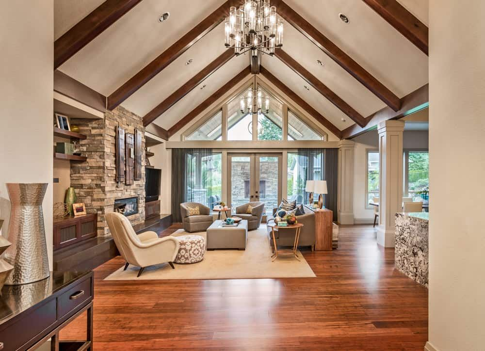 65 Cathedral Ceiling Ideas Photos Vaulted Ceiling Living Room Beams Living Room Cathedral Ceiling Living Room