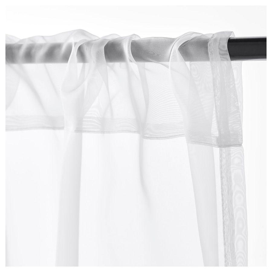 Teresia Gardinenstorepaar Weiß In 2019 Ikea Curtains