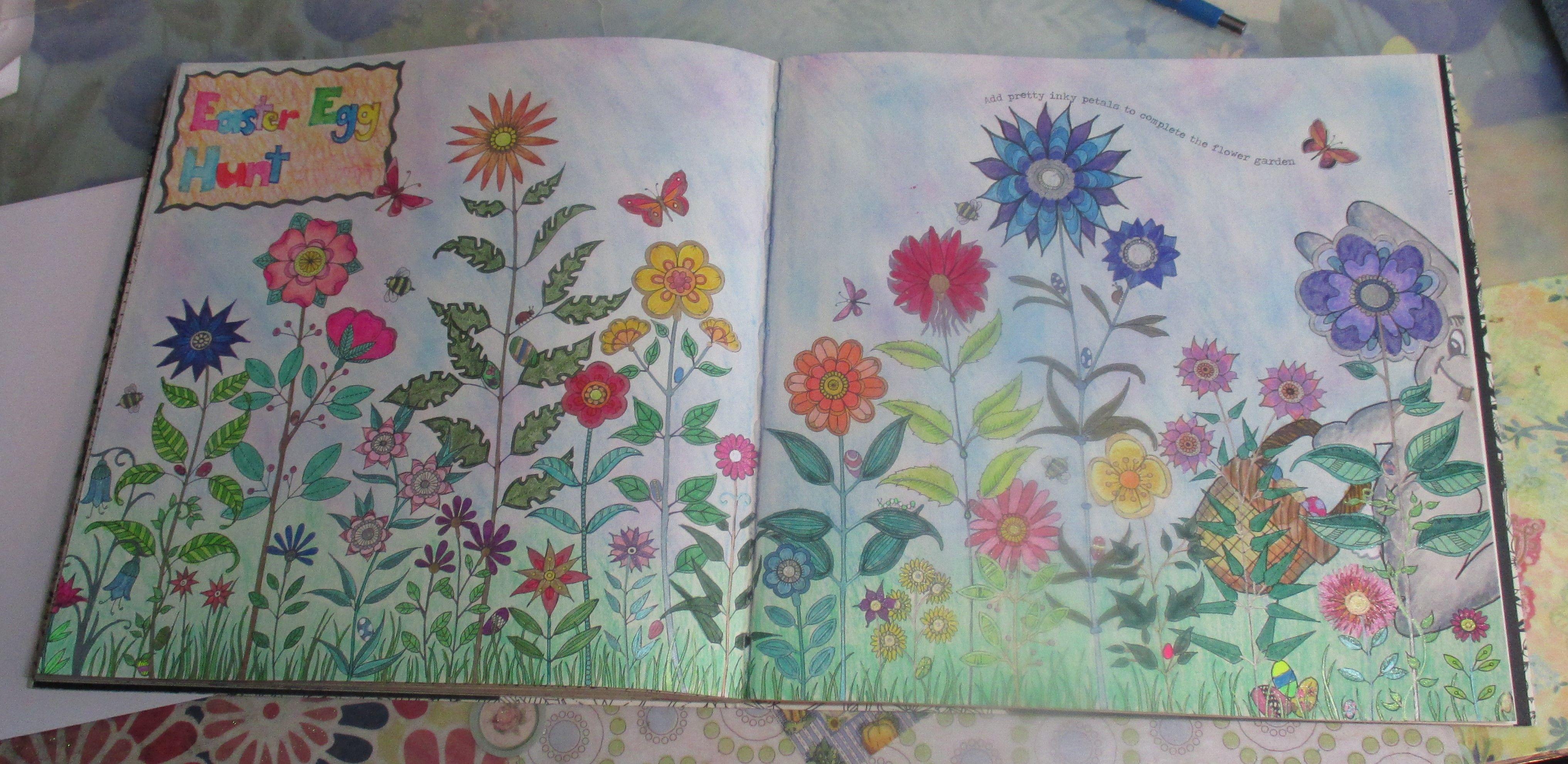 The secret garden coloring book target - Johanna Basford Secret Garden Easter Bunny