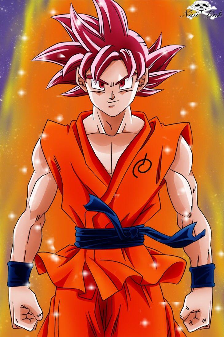 son goku ssj dios manga color hd | dragon ball imagenes | pinterest