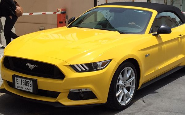 hire new mustang gt convertible at prox car rental. | prox car