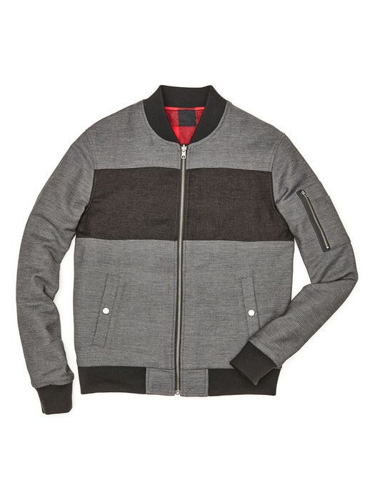 276ef016b PIECED BOMBER JACKET // Original Penguin | This Just In... | Bomber ...