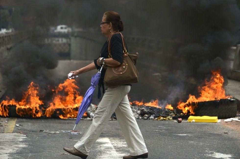 IlPost - Caracas, Venezuela, 24 febbraio 2014 (RAUL ARBOLEDA/AFP/Getty Images) - Caracas, Venezuela, 24 febbraio 2014 (RAUL ARBOLEDA/AFP/Getty Images)