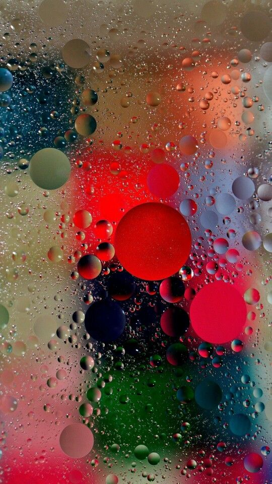 Under water Raindrop Wallpaper Bubbles wallpaper