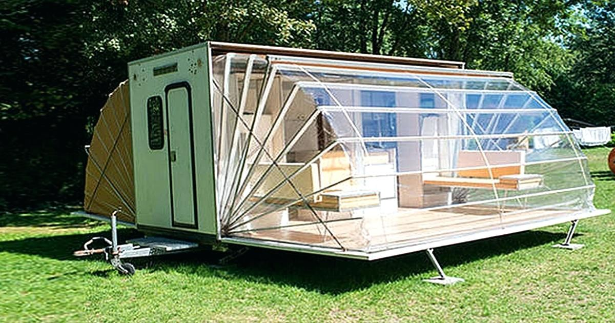 Diy Travel Trailer Awning Mods Plans Mobile Holiday House A Campercamper