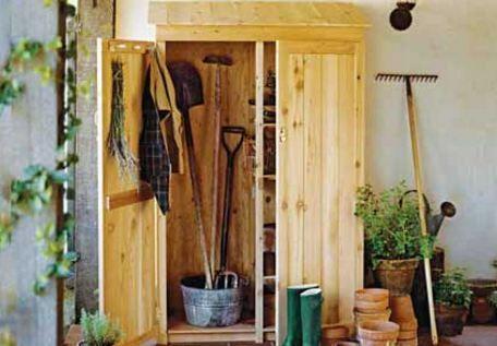 Construire Un Abri De Jardin En Bois Soi Meme Avec Images Abri De Jardin Jardins En Bois Rangement Jardin