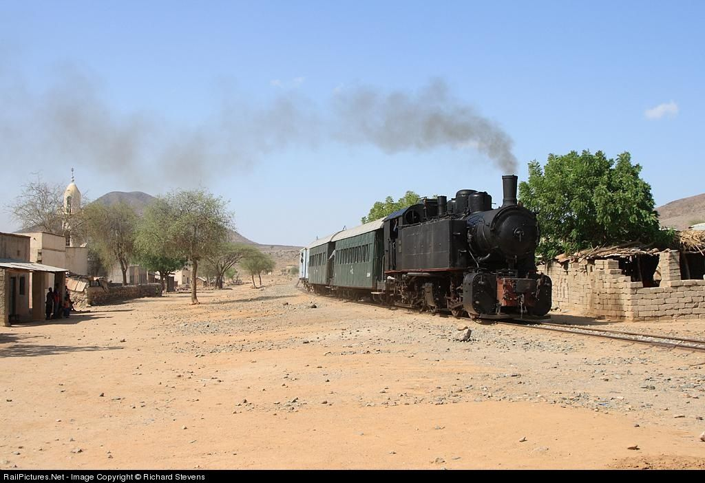 RailPictures.Net Photo: 442.59 Eritrean Railways 0-4-4-0 Mallet at Massawa, Eritrea by Richard Stevens