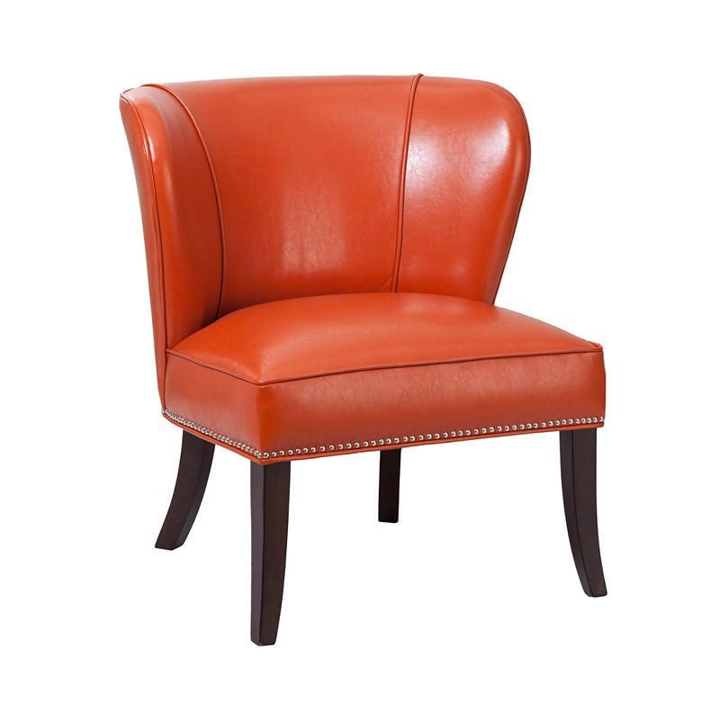 Best Madison Park Sabrina Accent Chair Orange Accent Chair 400 x 300