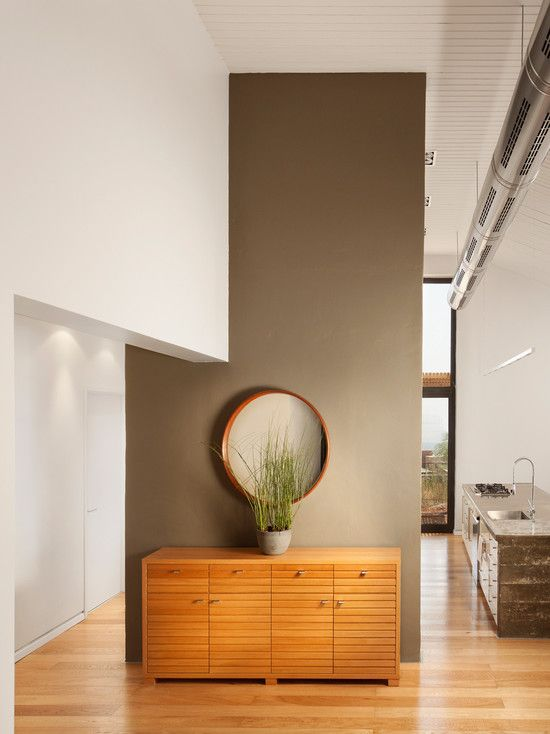 dark taupe accent wall smoky ash 986 benjamin moore for the home pinterest benjamin. Black Bedroom Furniture Sets. Home Design Ideas