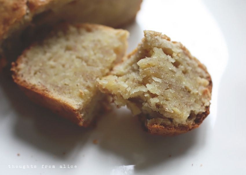 Thoughts from Alice: Simple Banana Bread {without baking soda}