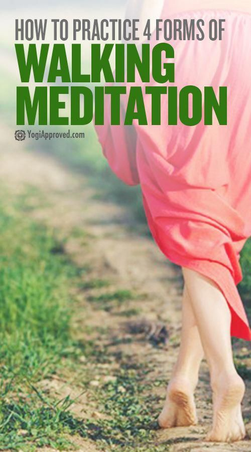 It's time to take your meditation practice outside and experience walking meditation! Learn 4 access...