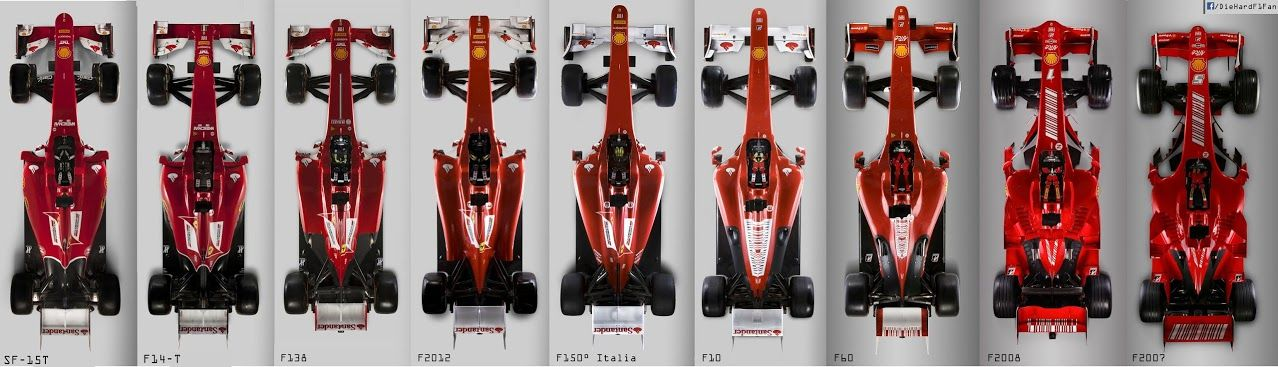 Last 9 Ferrari Chassis