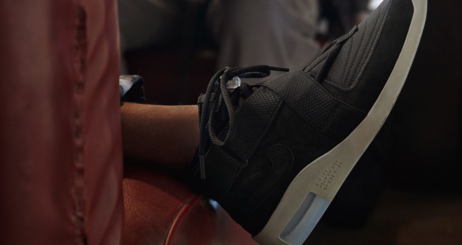 Air Fear Of God MOC Black & Fossil Release Date. Nike SNKRS
