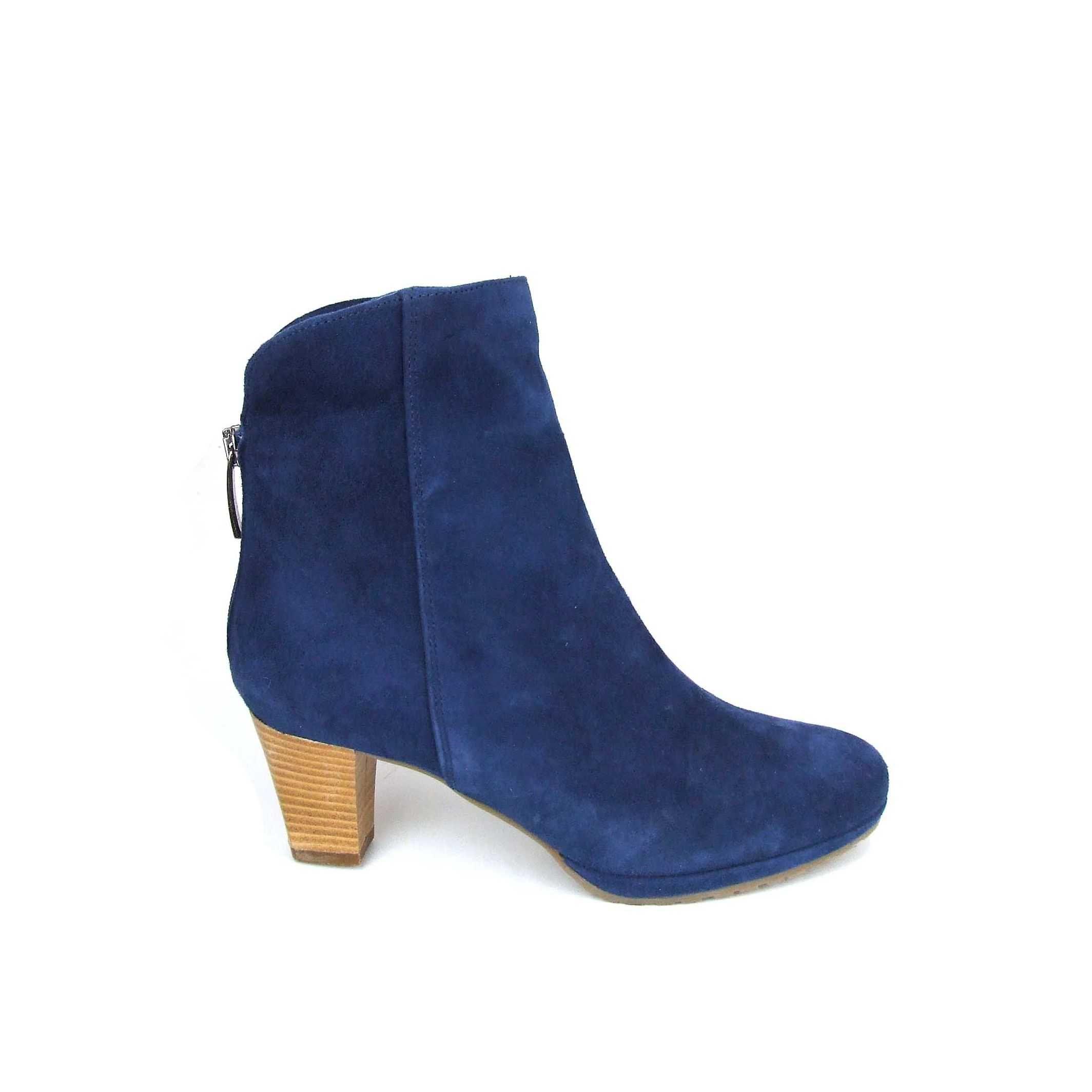 Begetti enkellaars   damesschoen   Blauw bij Shoehoo
