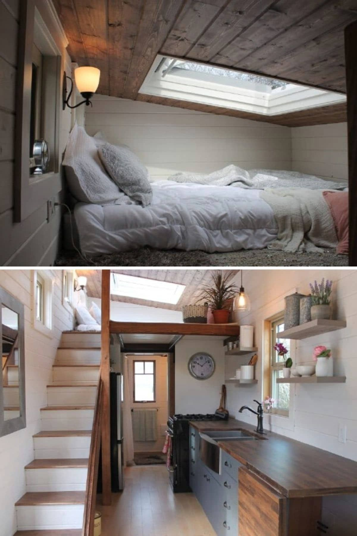 80 Tiny Houses With The Most Amazing Lofts Tiny House Bedroom Small Loft Spaces Shed To Tiny House