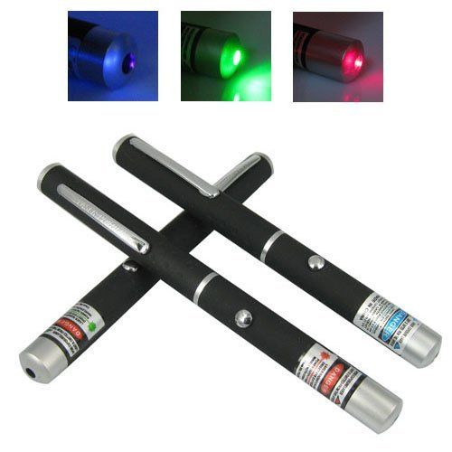 QQ-Tech® Green Red Blue / Violet / Purple Beam Laser Pointer Combo 3