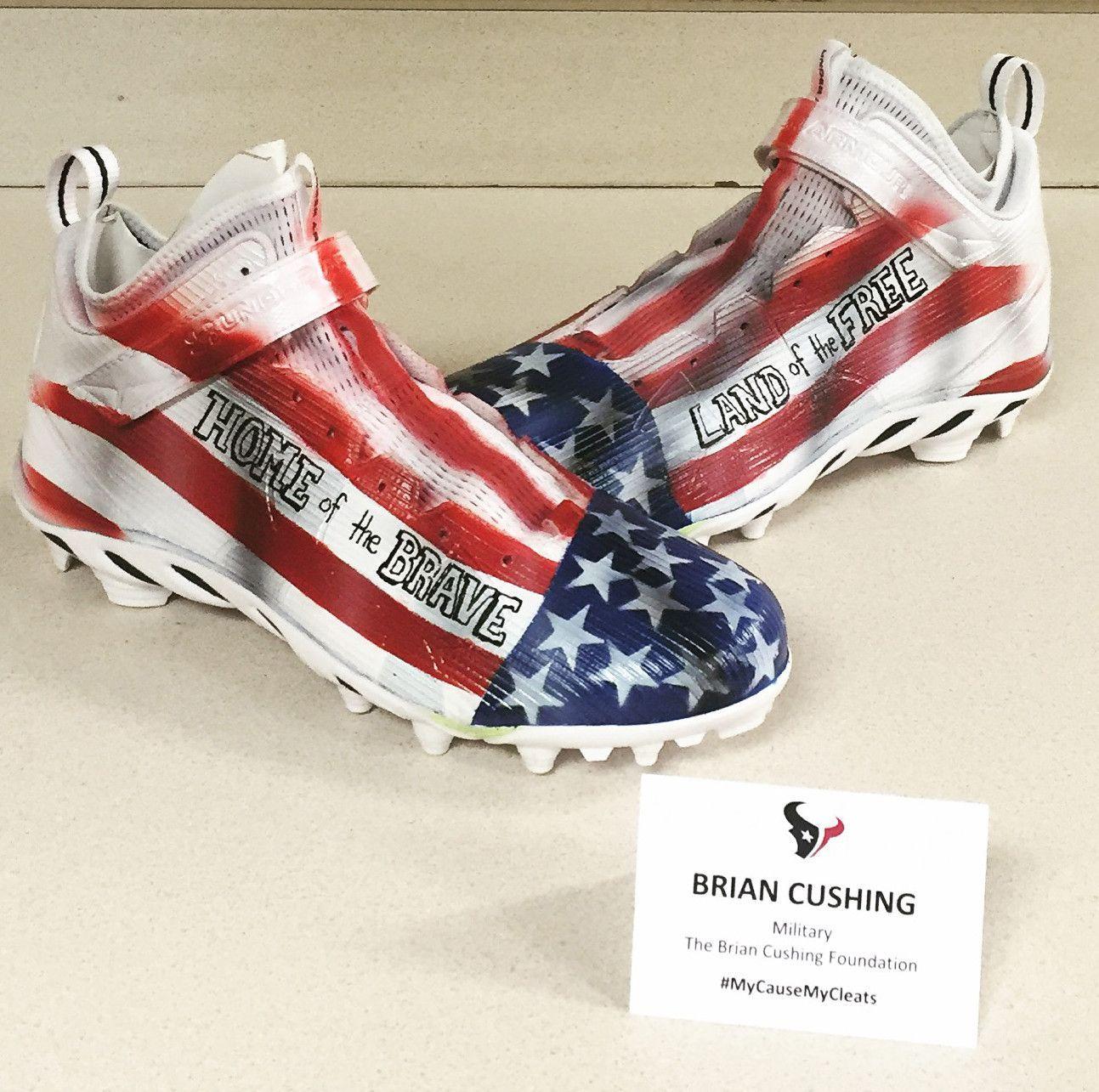 American Flag Cleats Custom Football Cleats Cleats Mens Football Cleats