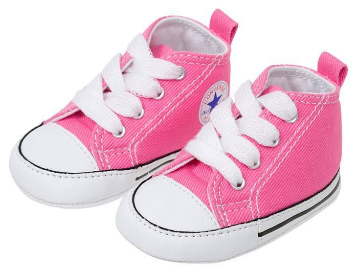 05fc8ad92ced29 Converse Infants Chuck Taylor First Star Hi Pink