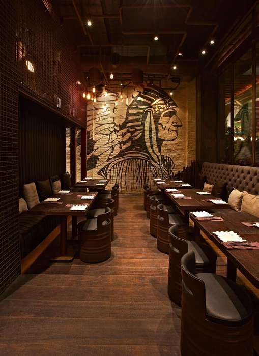 Cocoa room restaurant and bar design awards entry