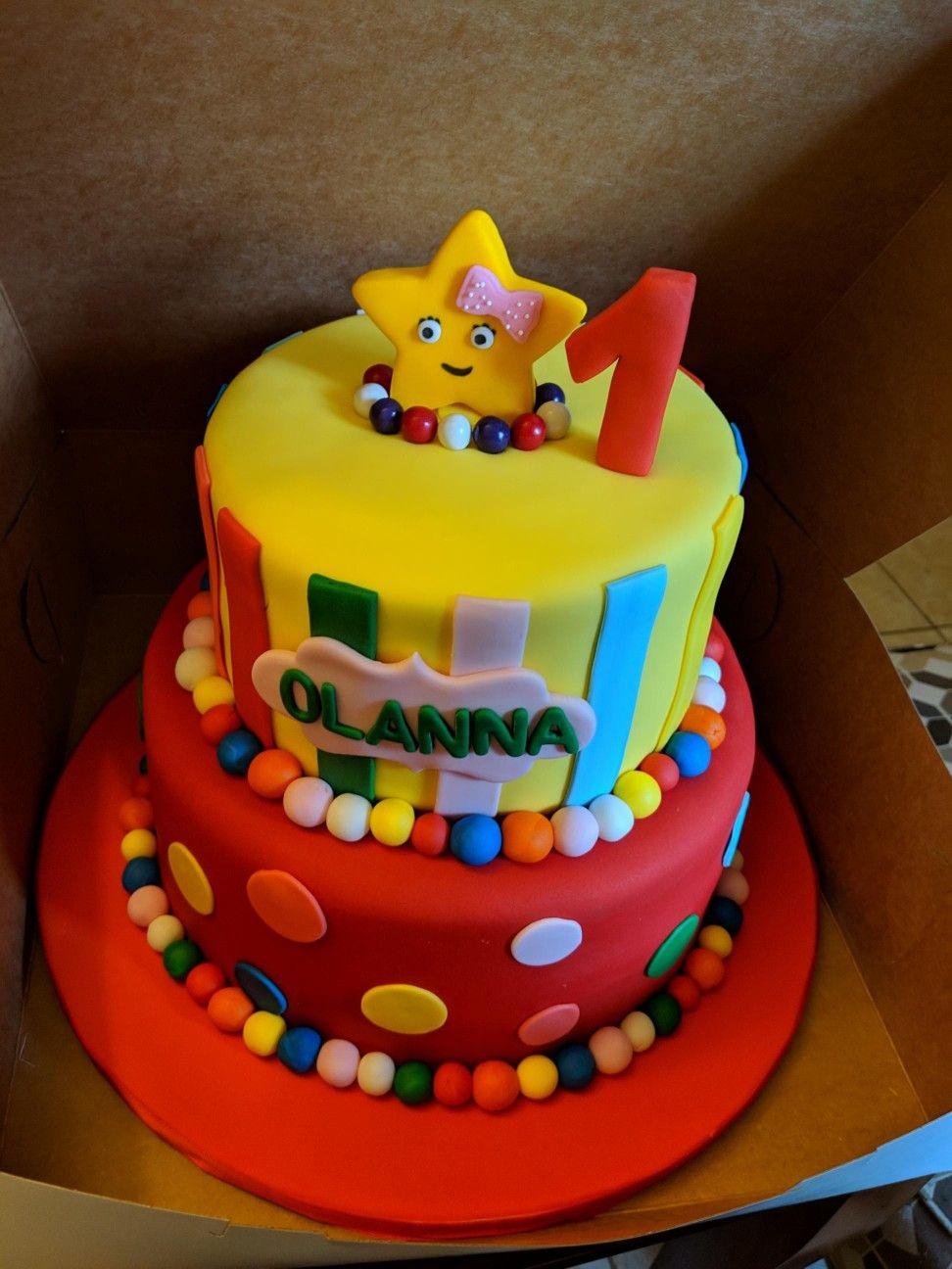 Little Baby Bum 1st birthday cake Baby first birthday