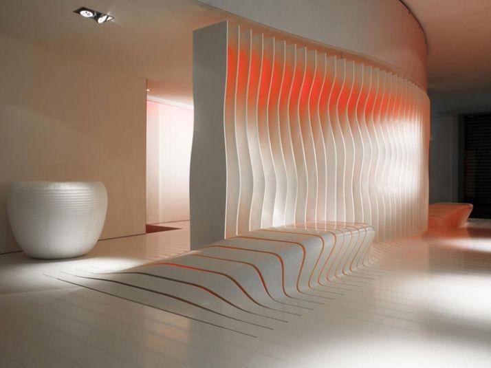dupont corian countertops design   DuPont Corian and Amanda Levete Architects   Futuristic ...