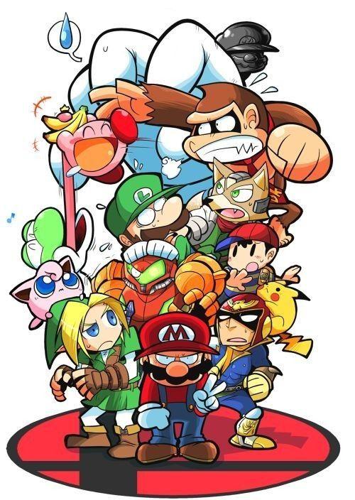Los Guerreros Del Mundo Del Nintendo Personajes De Videojuegos Arte De Videojuegos Fondos De Pantalla De Juegos