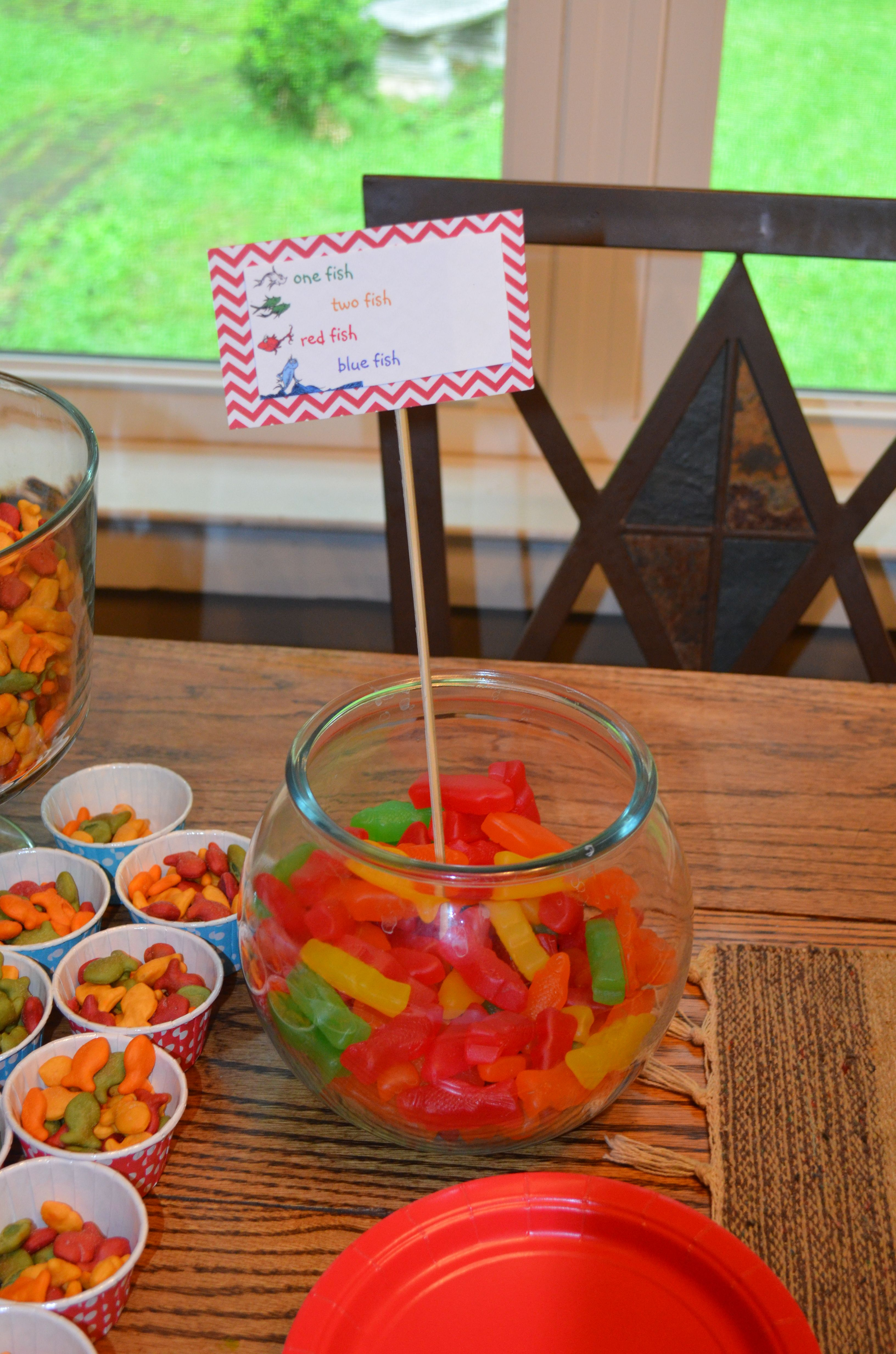 Rainbow Goldfish And Candy Colored Fish