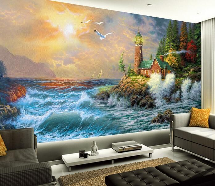 Creative Beach Themed Living Room Decor S Izobrazheniyami Dizajn