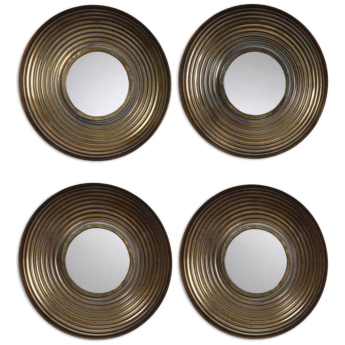 Uttermost Tondela Round Mirrors Set Of 4 12858 Round Mirrors