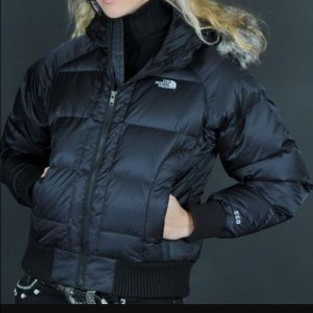 The North Face Tnf 550 Down Fill Puffer Black Puffer Coat North Face Jacket Jackets [ 1200 x 1200 Pixel ]