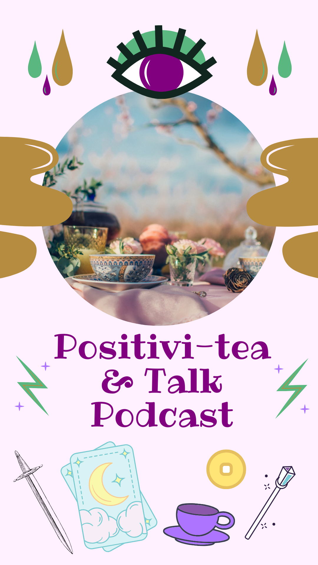 Follow the link to be taken to the Positivitea & Talk