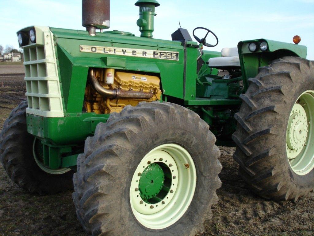 Oliver Tractors 2255
