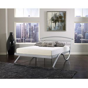premierstockholmmetalplatformbedframeking - Metal Platform Bed Frame King