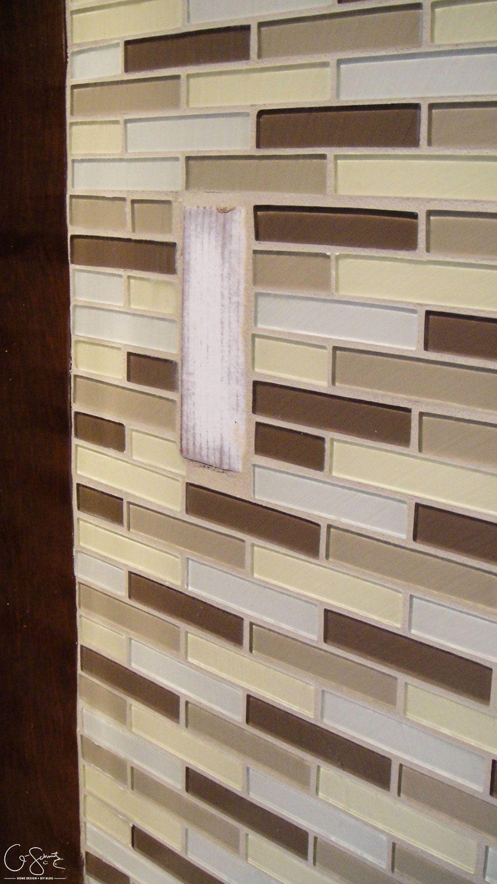 Tiling the Kitchen Backsplash | how to paint oak cabinets ...