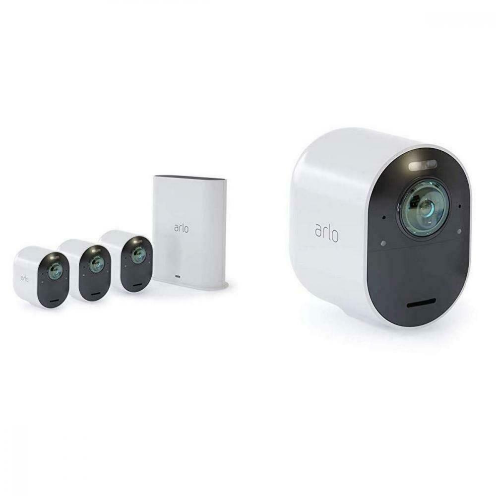 eBay Sponsored Arlo Ultra 4K Pack de 4 Smart Camera