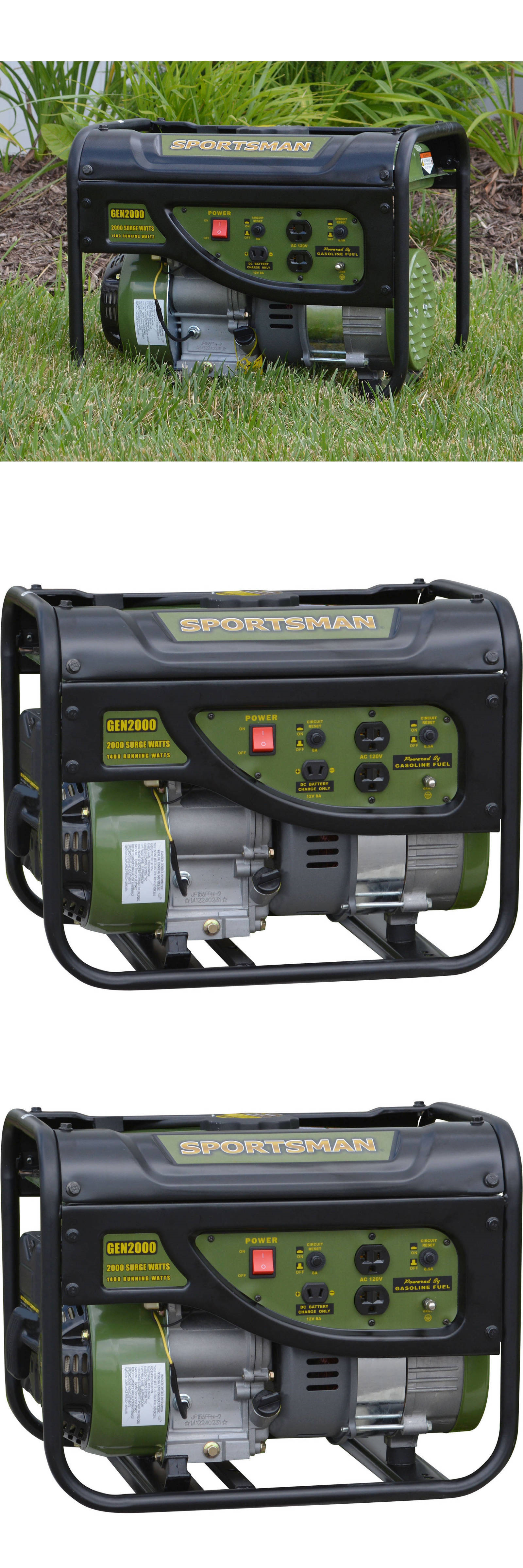 Generators Portable Generator 2000 Watt Power Quiet