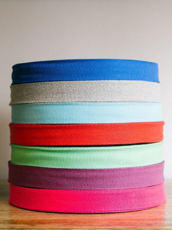 Multiple Widths Available Heavy Weight - 72 Yards USA Made 1-1//2 Natural Cotton Twill Tape